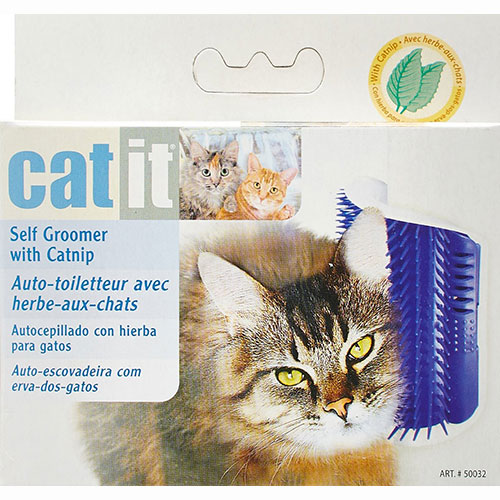 Catit Scratch Pad Self Groomer with Catnip