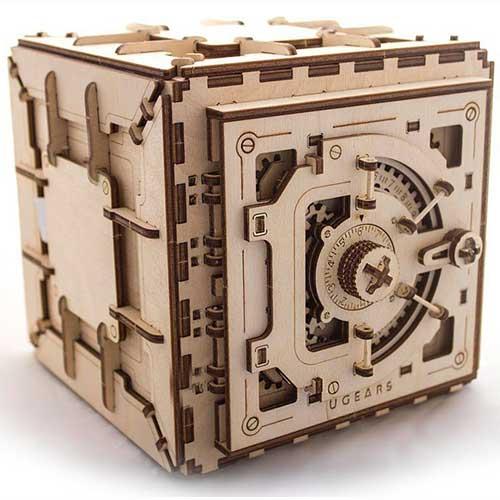 Mechanical Safe 3D Puzzle Ugears
