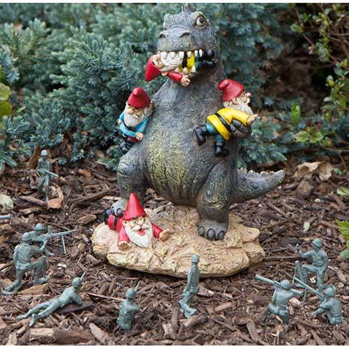 Gardenzilla Lawn Garden Gnome Massacre Ornament
