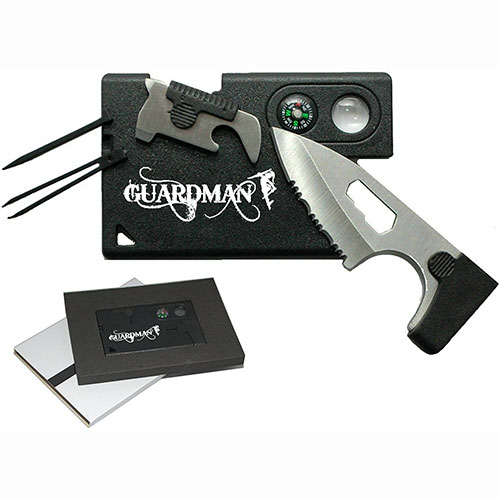 Guardman Credit Card Survival Tool 10 in 1