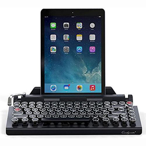 QwerkyWriter Wireless Bluetooth Vintage Typewriter Portable Keyboard