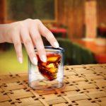 Fred Doomed Crystal Shot Glass