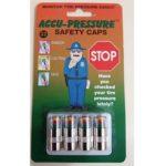 Accu-pressure Safety Caps