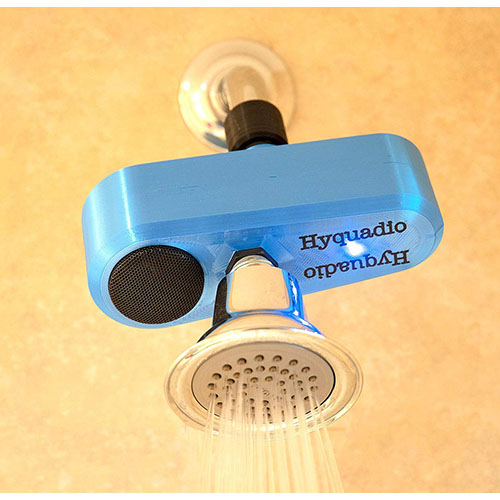 Hyquadio Waterproof Shower Bluetooth Speaker Cool Gadgets